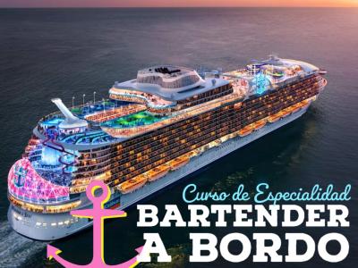 BARTENDER A BORDO, Mención Cruceros y Yates